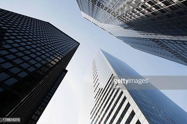 Skyscrapers in New York City, USA