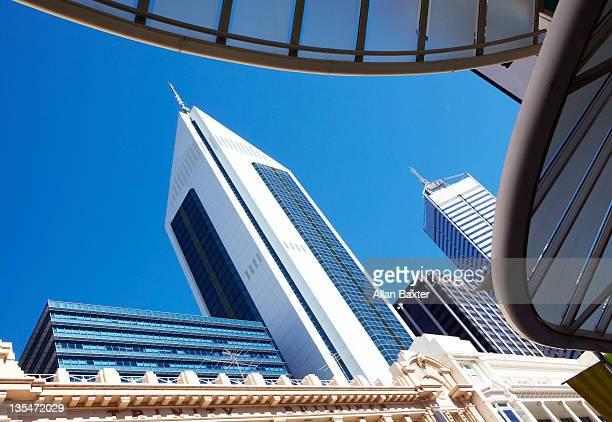 Skyscrapers in Perth