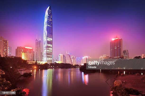 Wolkenkratzer in Shenzhen, China