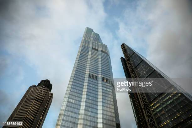 42 Tower 22 Bishopsgate and the Leadenhall Building London United Kingdom on 11 December 2019