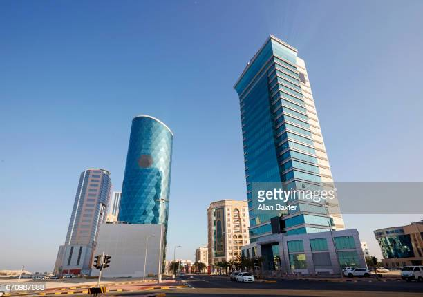 Skyscrapers in the Seef financial district of Manama