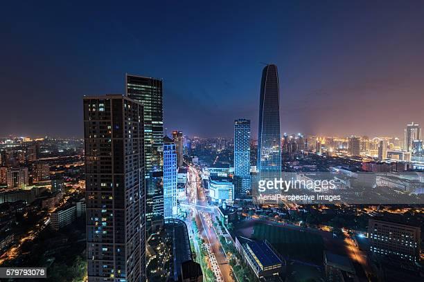 Skyscrapers in Tianjin