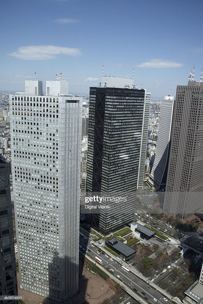Skyscrapers, Japan : Stock Photo