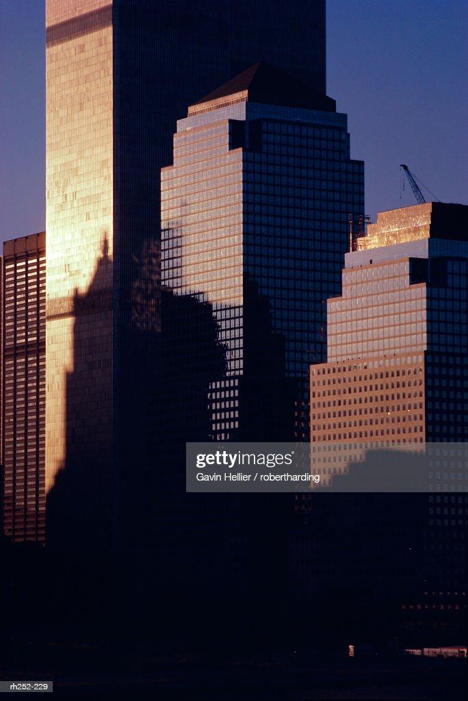 Skyscrapers, New York, New York State, United States of America (U.S.A.), North America : Foto de stock