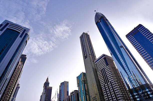 Skyscrapers Of Dubai Wall Art