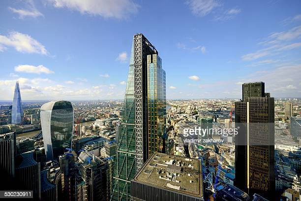 Skyscrapers of London's City