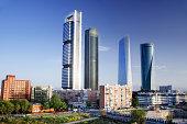 Skyscrapers of Madrid