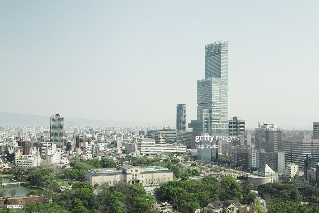 Skyscrapers of Osaka, Japan : ストックフォト