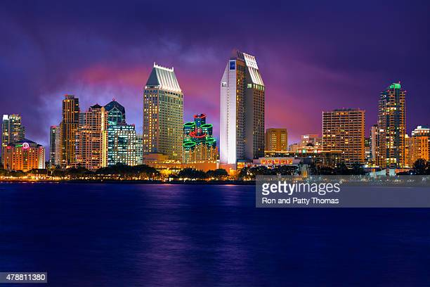 Skyscrapers of San Diego Skyline, California