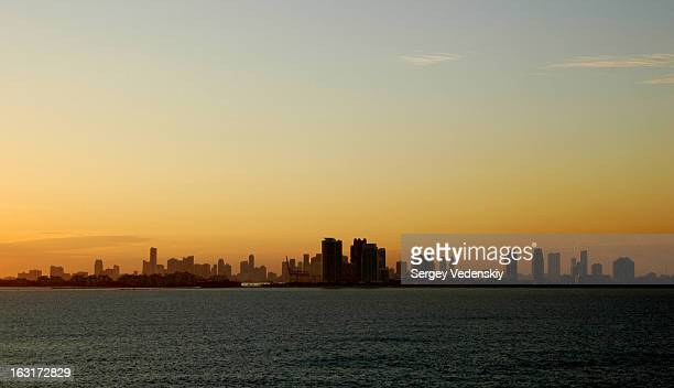 Skyscrapers of the Miami Beach