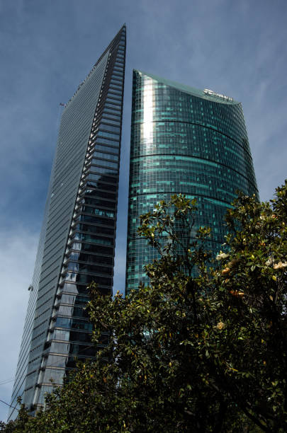 Skyscrapers on Paseo de la Reforma, Cuauhtémoc, Mexico City, Mexico