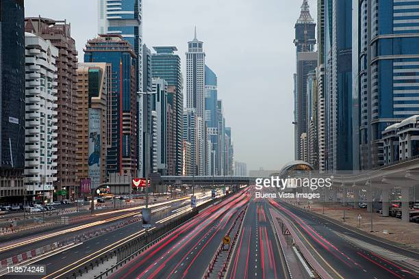 Skyscrapers on Sheikh Zayed Road