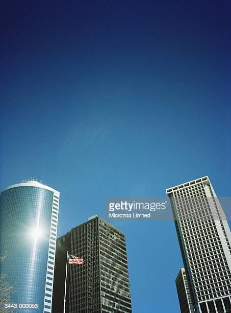 skyscrapers - microzoa - fotografias e filmes do acervo