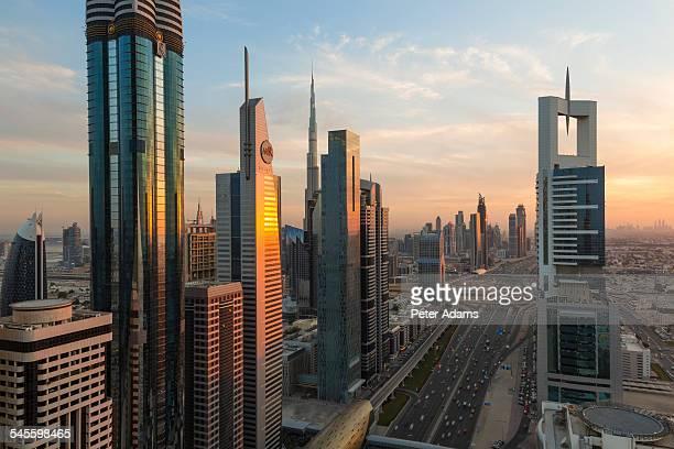 Skyscrapers, Sheikh Zayed Road, Dubai