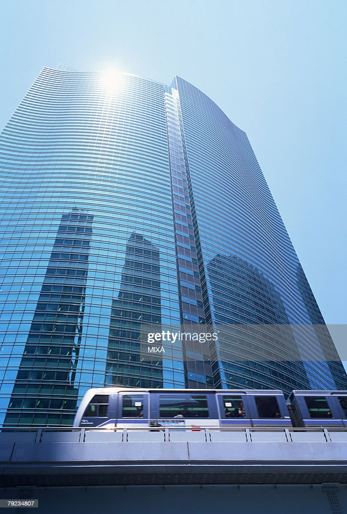Skyscrapers, Shiodome, Minato Ward, Tokyo, Japan : Stock Photo