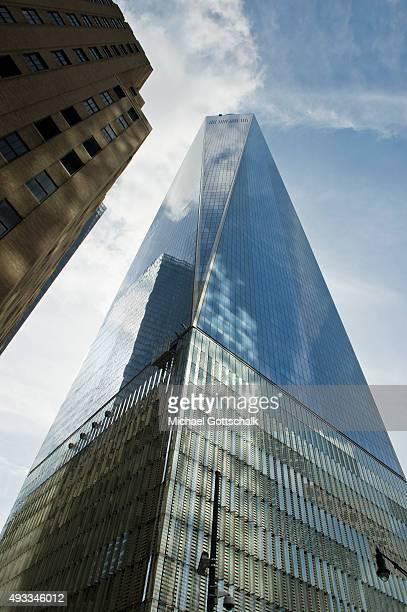 Skyskrapers on September 26 2015 in New York United States