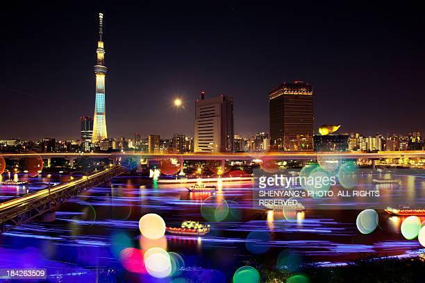 Skytree and Sumidagawa