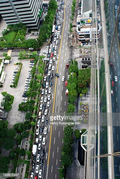 Skyview of Seoul