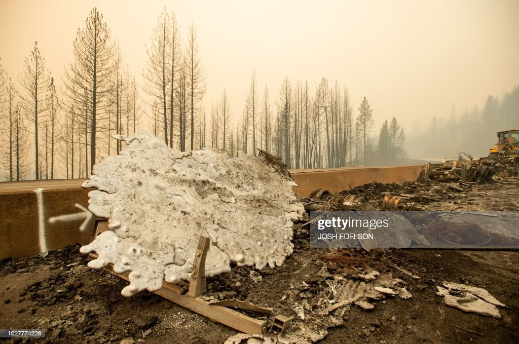 US-ENVIRONMENT-FIRE : News Photo