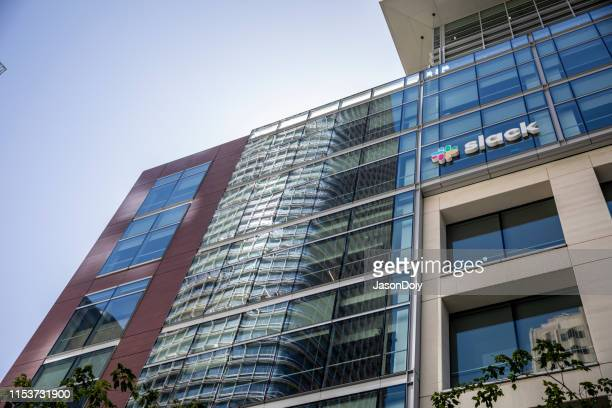 サンフランシスコの slack 本社 - slack technologies ストックフォトと画像