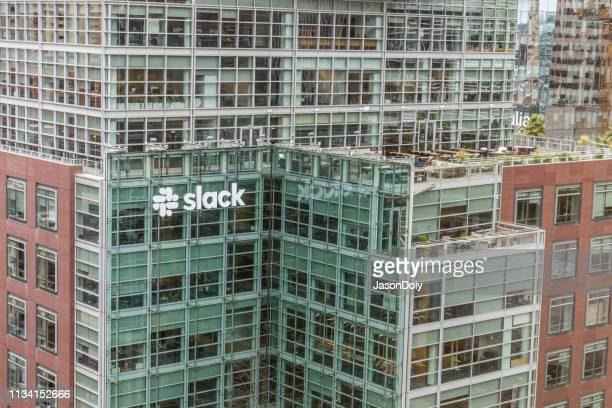 slack 本社 - slack technologies ストックフォトと画像
