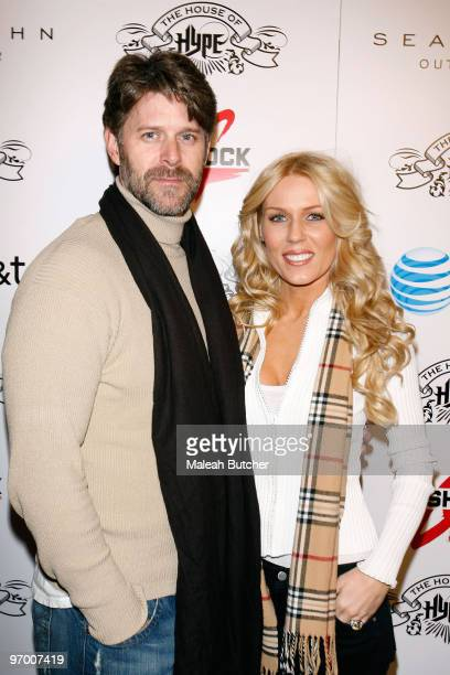 Slade Smiley and Gretchen Rossi attend the House of Hype Hospitality Lounge Day 2 on January 23 2010 in Park City Utah