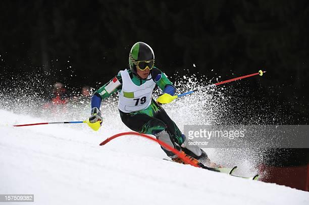 Slalom ski-Wettbewerb