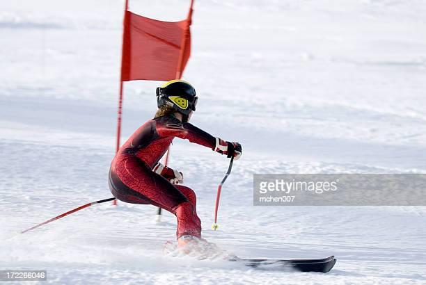 Slalom-Schriftsteller