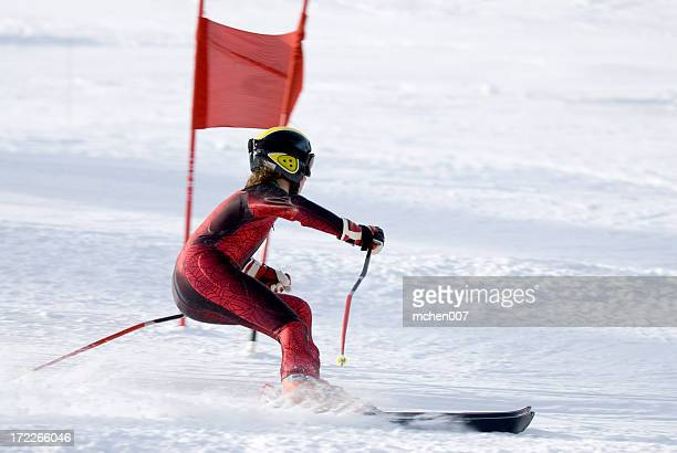 Slalom Skiier