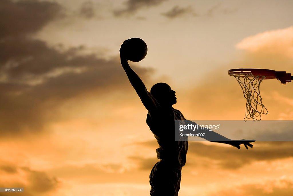 slam dunk : Stock Photo