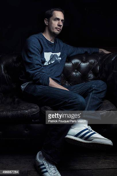 Slam poet Grand Corps Malade aka Fabien Marsaud is photographed for Paris Match on April 21 2015 in Paris France