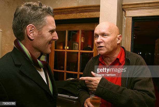 Slamdance president Peter Baxter and director Allan Moyle attend the after party for the film Weirdsville during the 2007 Slamdance Film Festival at...