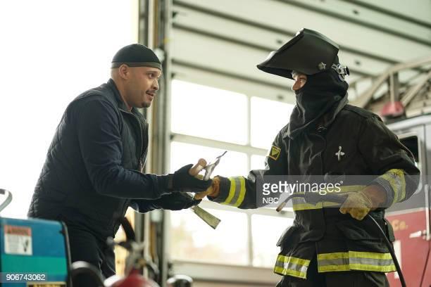 FIRE 'Slamigan' Episode 610 Pictured Joe Minoso as Joe Cruz Kara Killmer as Sylvie Brett