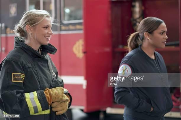 FIRE 'Slamigan' Episode 610 Pictured Kara Killmer as Sylvie Brett Monica Raymund as Gabriela Dawson
