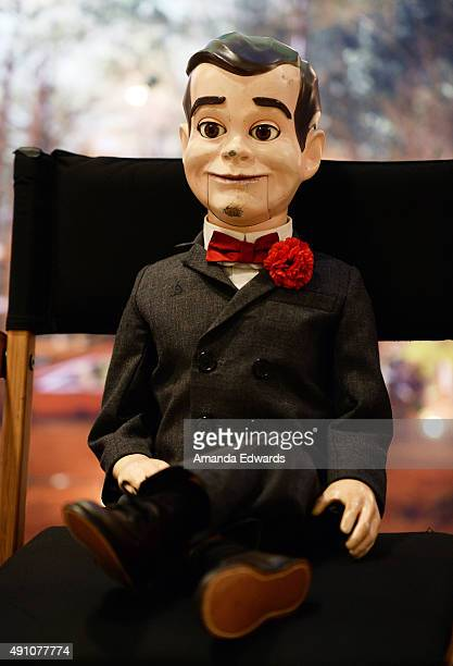 Slappy attends the photo call for Sony Pictures Entertainment's Goosebumps at The London West Hollywood on October 2 2015 in West Hollywood California