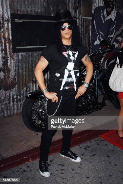 Slash attends THE 3RD ANNUAL SUNSET STRIP MUSIC FESTIVAL LAUNCHES WITH A TRIBUTE TO SLASH at House Of Blues on August 26 2010 in West Hollywood CA