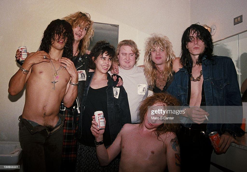 Guns n' Roses At Santa Monica Civic : News Photo