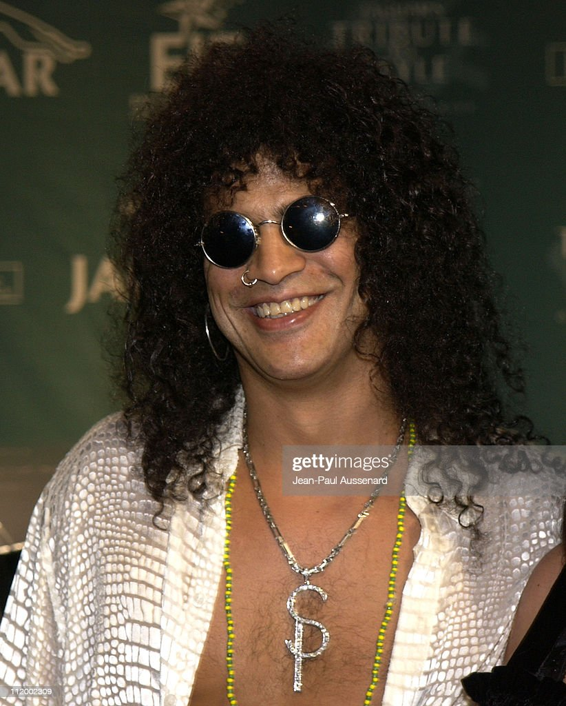Slash during 'Jaguar's Tribute to Style on Rodeo Drive' Benefit at Rodeo Drive in Beverly Hills, California, United States.