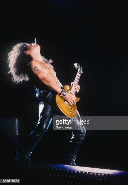 Slash Guns N Roses Feyenoord Stadion Rotterdam Holland