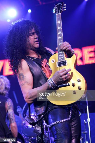 Slash of Velvet Revolver during K-ROCK's Claus Fest IV - December 3, 2004 at Continental Airlines Arena in East Rutherford, New Jersey, United States.