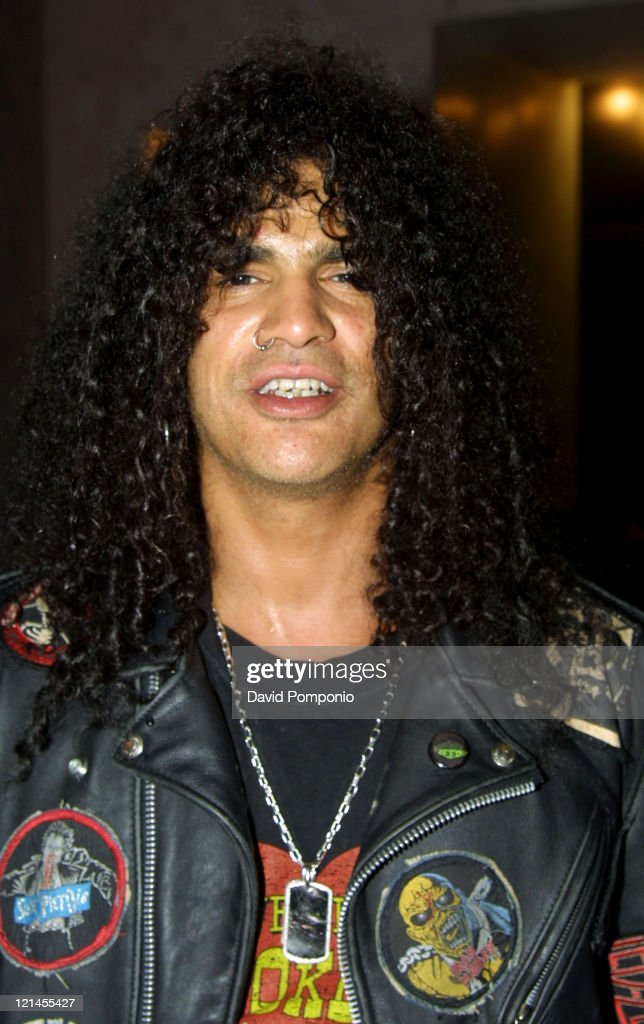 Slash of Velvet Revolver during Velvet Revolver After Party - May 26, 2004 at Hotel Gansevoort Rooftop in New York City, New York, United States.