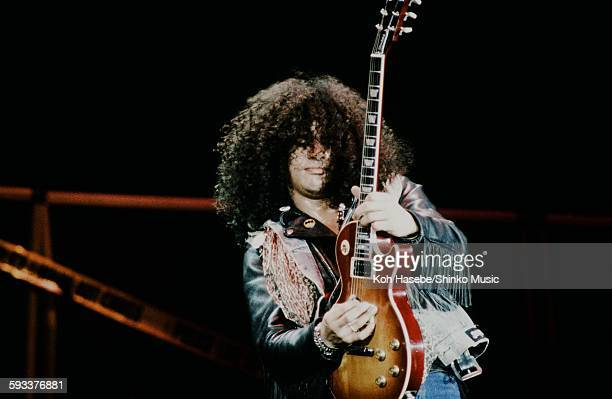 Slash playing guitar solo on Guns N' Roses USA Tour unknown July 1991