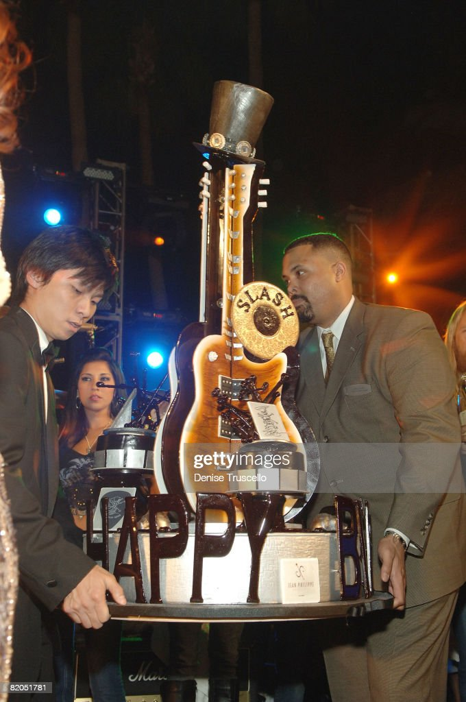 Slash's Birthday Concert at Bare Pool & Lounge at The Mirage Hotel : News Photo