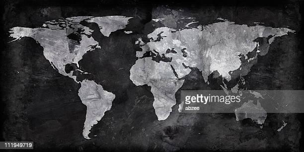 Slate world map
