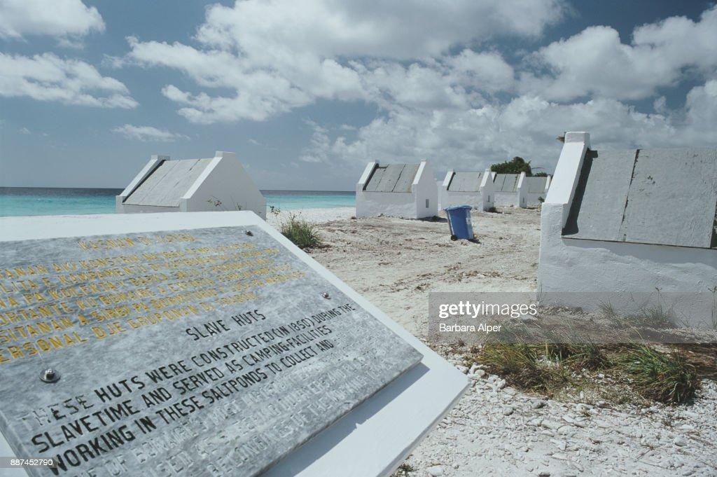 Slave Huts : News Photo