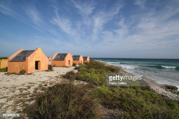 Slave huts on Bonaire, Netherlands Antilles