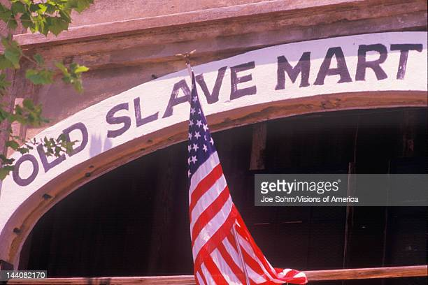 Slave mart in Charleston SC Boone Hall Plantation