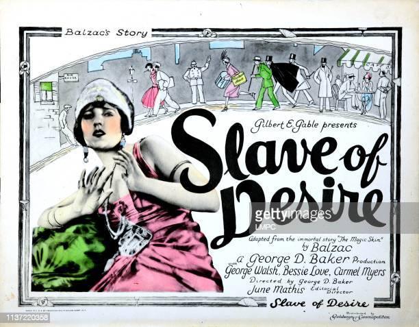 Slave Of Desire US lobbycard Bessie Love 1923