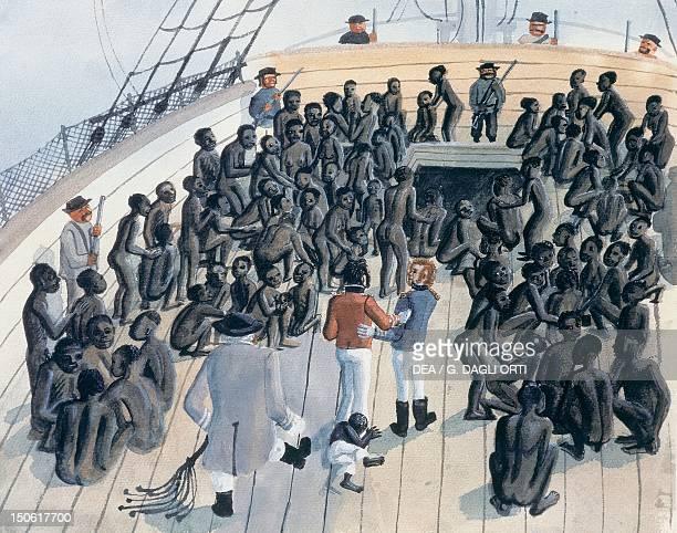 Slave ship Slavery Africa 19th century