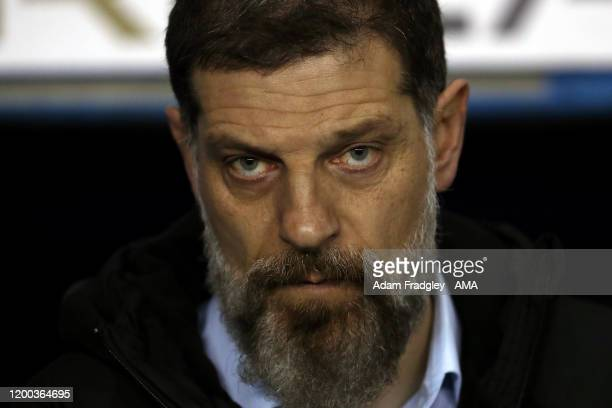 Slaven Bilic head coach / manager of West Bromwich Albion during the Sky Bet Championship match between Reading and West Bromwich Albion at Madejski...